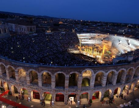 View Arena Verona, events Hotel Hohenwart