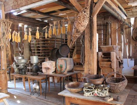 farmer museum, mountain lodge, gsteier
