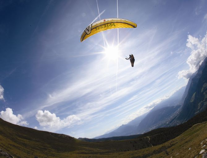 Paragliding in South Tyrol, Hotel Hohenwart