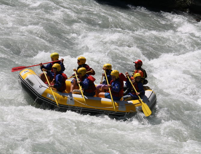 Rafting in South Tyrol, holiday at Hotel Hohenwart