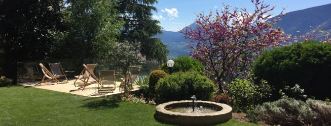 View Hotel Hohenwart Schenna, holiday in South Tyrol